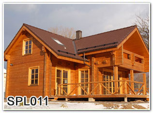 Duplex wooden homes