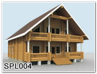 Duplex woodenhouse