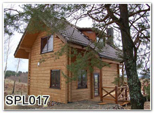 Eco friendly resort wood house